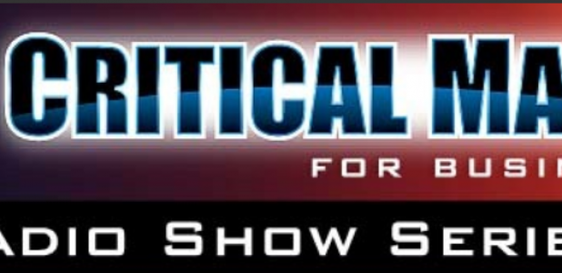 Interview with Ric Franzi of the Critical Mass Morning Show